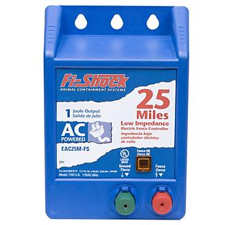 Fi-Shock 25 Mile AC Powered Charger 1 Joule