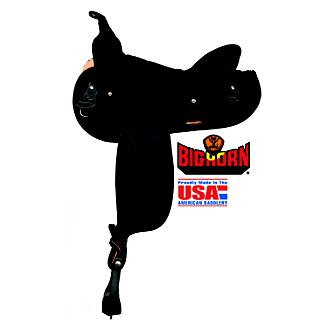 Big Horn Synthetic Suede Gaited Trail Saddle
