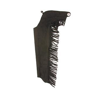 Tough-1 Synthetic Suede Youth Western Show Chaps