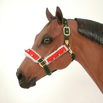 Holiday Horse Halter Bridle Accessory Set