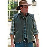Outback Trading Oilskin Sawbuck Vest