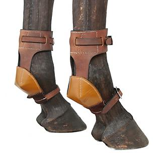 Tough1 Leather Skid Boots