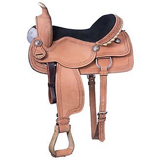 King Series Cowboy RO Barbwire Saddle