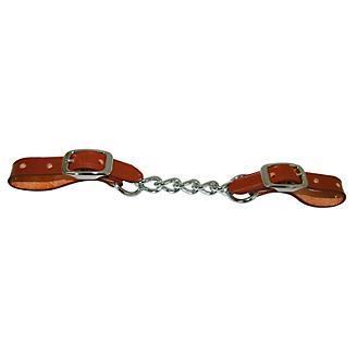 Western Single 5-Link Curb Strap