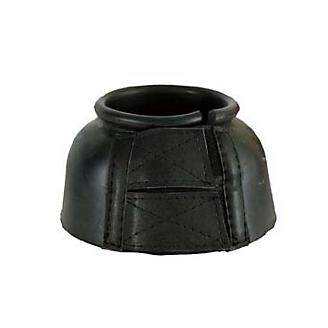 Basic Smooth Rubber Velcro Bell Boots