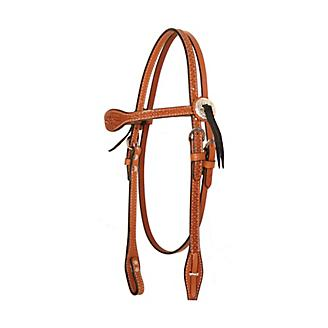 Circle Y Goodnight Floral Combo Headstall