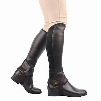 Saxon Equileather Adult Half Chaps