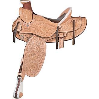 Billy Cook Saddlery Horn Plenty Rancher Saddle 16 - Statelinetack com