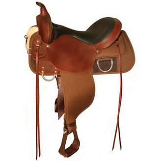 Circle Y High Horse Lockhart Saddle 13 Reg Black - Statelinetack com