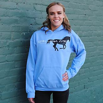Live Laugh Ride Horses Unlimited Hoodie