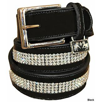 Equine Couture Bling Leather Belt
