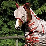 Amigo Fly Mask with Ears Pony Silver/Black