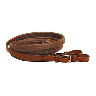 Tory Leather Rubber Grip Reins