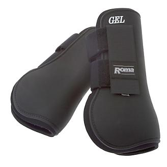 Roma Gel Open Front Boots