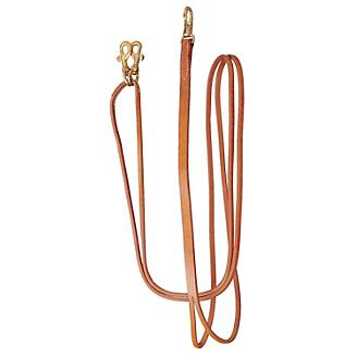 Tory Harness Leather Sliding Draw Rein