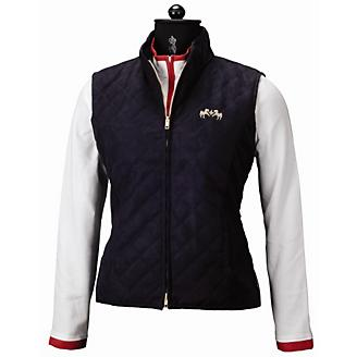 Equine Couture Spinnaker Micro Suede Vest