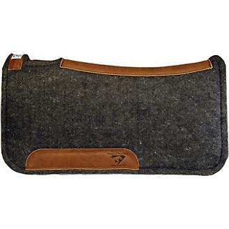 Diamond Wool Contour Felt Ranch Pad 32X32 - Statelinetack com