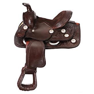 King Series Mini Concho Westen Saddle