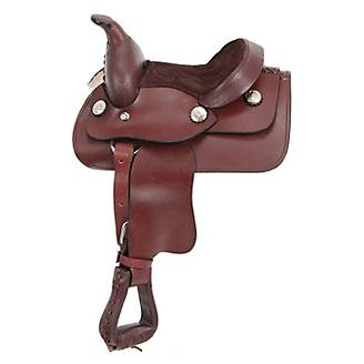 King Series Mini Smooth Western Saddle