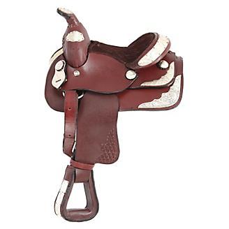 Blemished King Series Mini Western Show Saddle