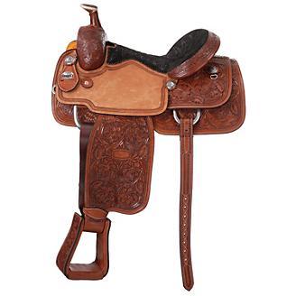 Silver Royal Rising Star Calf Roper Saddle