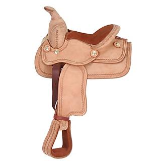 Blemished King Series Mini Deluxe Western Saddle