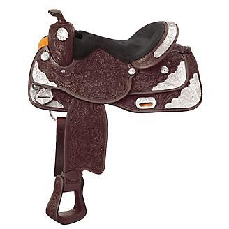 Royal King 7-Oaks Silver Show Saddle