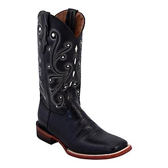 dbc2653a23c Ferrini Ladies Print Gator Sq Toe Boots