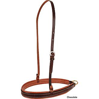 Tough-1 5//8inx7 1//2ft Harness Leather Roping Rein