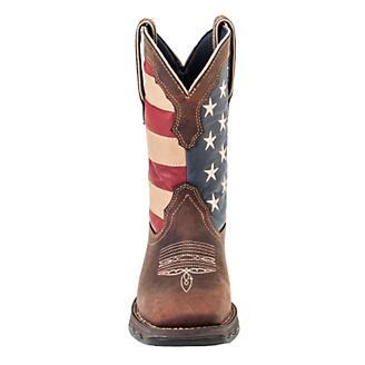 Durango Lady Rebel Patriotic Pull-On Boots