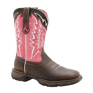 Durango Ladies Pink Ribbon Boots