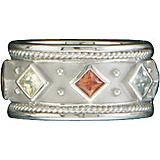Kelly Herd Silver Multi Stone Ring