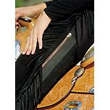 Hobby Horse Ladies PMS Split Leather Chaps MS Blk