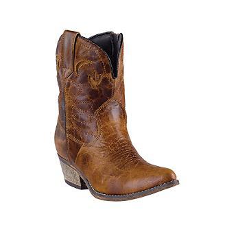 Dingo Ladies Adobe Rose Western Boots