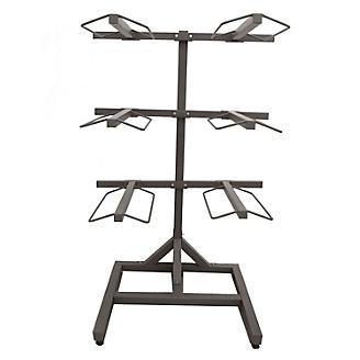 6 Arm Metal Saddle Rack