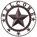 Welcome Wall Decor Star