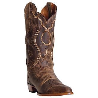 Dan Post Mens Albany Tan Western Boots