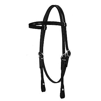Fabtron Leather Browband Headstall