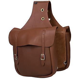 Weaver Chap Leather Saddle Bag
