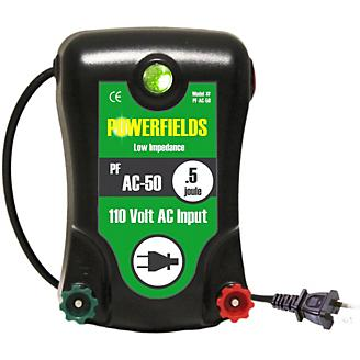 Powerfields 110V 30 Acre Fence Energizer .5 Joules