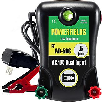Powerfields AC/DC 30 Acre Fence Energizer .5 Joule