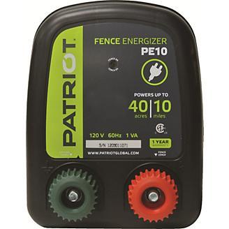 Patriot PE10 Fence Energizer 0.30 Joule