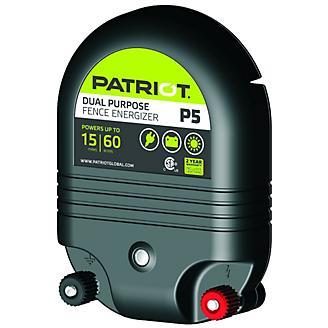 Patriot P5 Dual Purpose Fence Energizer 0.50 Joule