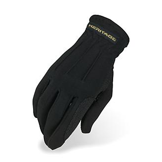 Heritage Power Grip Gloves 8/9 Black