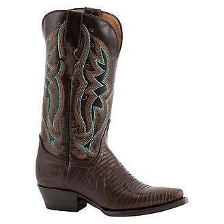 Ferrini Ladies Teju Lizard Snip Toe Boots