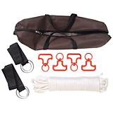 Tough-1 4 Horse Swivel Tie Picket Line Kit