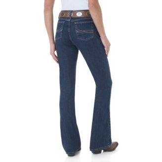 a94b42652 As Real as Wrangler Classic Fit Boot Cut Jeans - Statelinetack.com