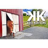 Kool Kurtains 36 in Panel Natural Weave