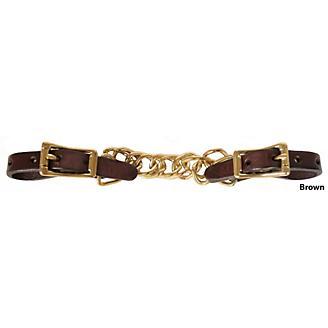 Tucker Curb Chain w/Brass Hardware