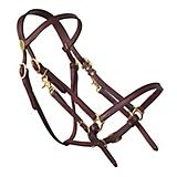 Tucker Halter Bridle Lite w/Brass